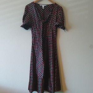 Diane von furstenberg silk acacia Vintage dress
